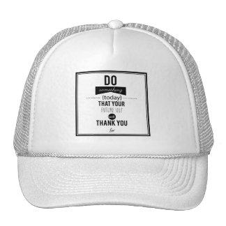 Do something Today Typography Design Trucker Hat