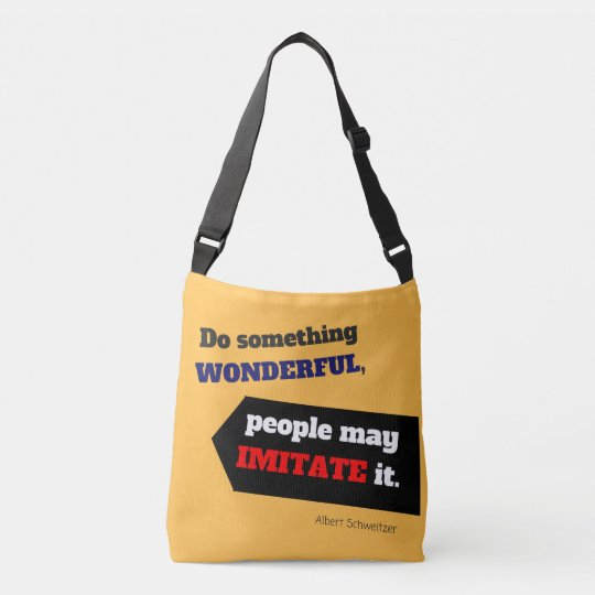 Do Something Wonderful Bag