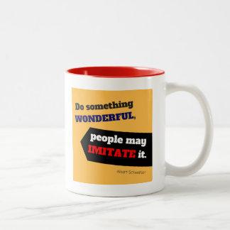 Do Something Wonderful Mug