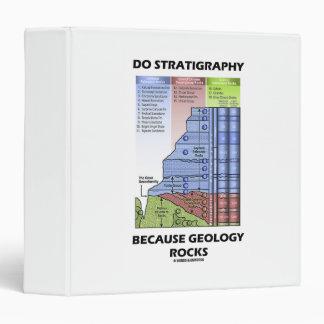 Do Stratigraphy Because Geology Rocks Grand Canyon Vinyl Binders
