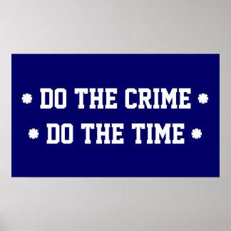 DO THE CRIME POSTER