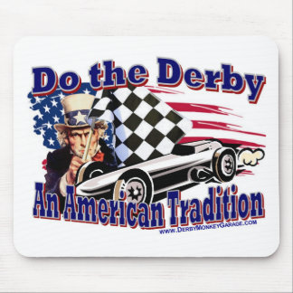 Do the Derby Mouse Pad