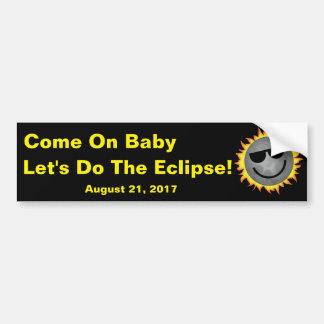 Do The Eclipse Bumper Sticker