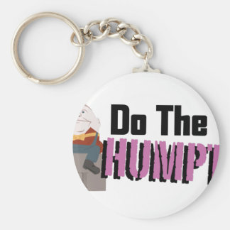 Do The Humpty Basic Round Button Keychain