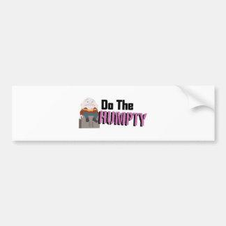Do The Humpty Bumper Sticker