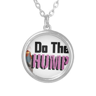 Do The Humpty Silver Plated Necklace