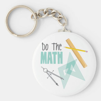 Do the Math Keychain