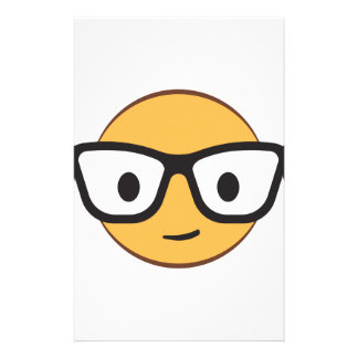 Do these glasses make me look happy? custom stationery