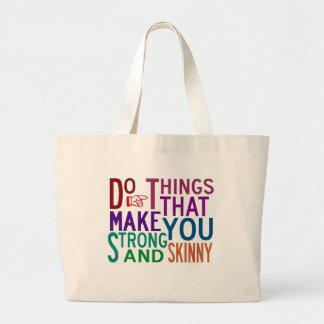 Do Things - Gym Tote Bags