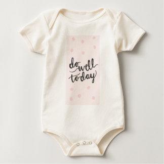 Do well today baby bodysuit