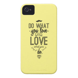 Do What You Love and Love What You Do iPhone 4 Case-Mate Case