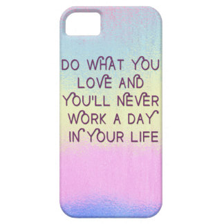Do What You Love Motivational Quote Cases