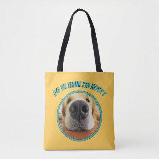 Do Ya Think I'm Nosy All Over Print Tote Bag