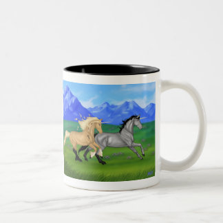 Do you believe in magic? Two-Tone coffee mug
