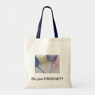 Do you crochet? tote bag