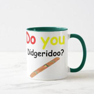 Do you didgeridoo Cup