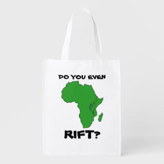 Do You Even Rift? (One-sided) Reusable Grocery Bag