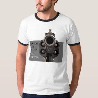 Do You Feel Lucky Police Special Revolver Gun T T-Shirt