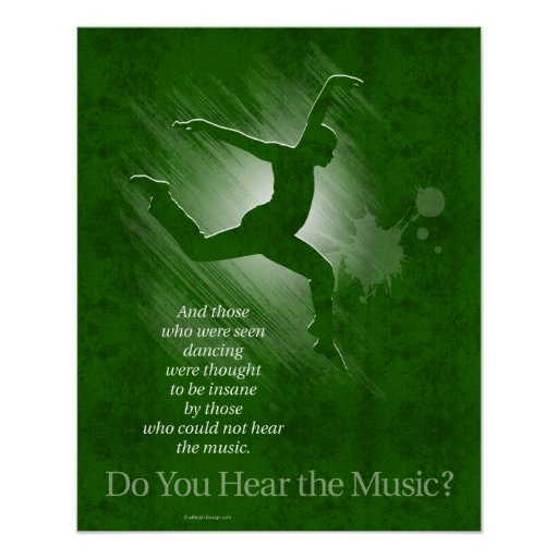 Do You Hear The Music? Posters
