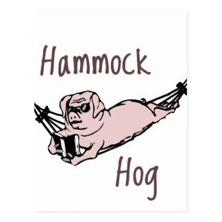 Do you know a Hammock Hog? Postcard