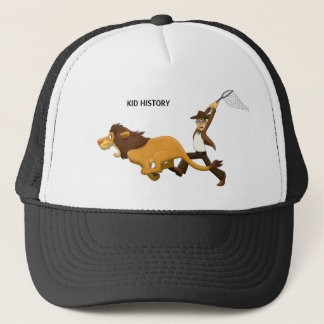 """""""Do You Know What Lions I Hunted?"""" Trucker Hat"""