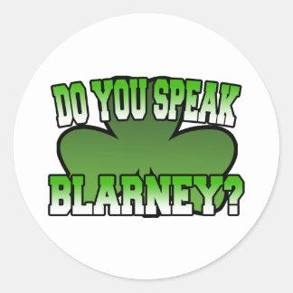 Do You Speak Blarney Sticker