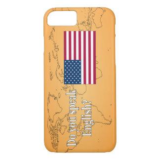 Do you speak English? in English. Flag wf iPhone 7 Case