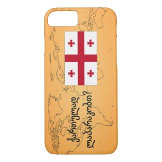 Do you speak Georgian? in Georgian. Flag bf iPhone 7 Case