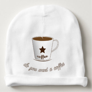 Do you want a coffee baby beanie