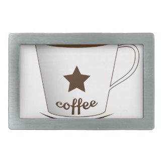 Do you want a coffee rectangular belt buckle
