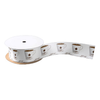 Do you want a coffee satin ribbon