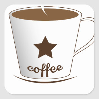 Do you want a coffee square sticker
