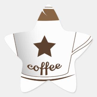 Do you want a coffee star sticker