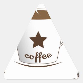 Do you want a coffee triangle sticker