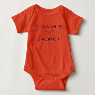 Do you want to see my buttocks? You initially! Baby Bodysuit