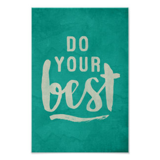 Do your best motivational poster