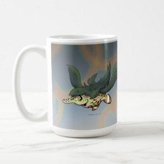 DOB ALIEN CARTOON Classic White Mug