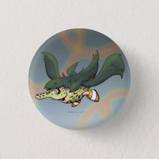 DOB CUTE ALIEN MONSTER SMALL BUTTON