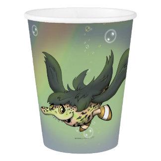 DOB MONSTER ALIEN CARTOON PAPER CUP