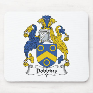 Dobbins Family Crest Mouse Pad