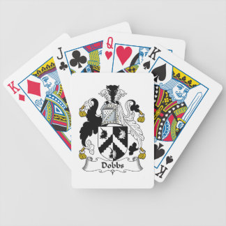 Dobbs Family Crest Bicycle Playing Cards
