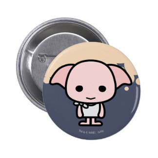 Dobby Cartoon Character Art 2 Inch Round Button