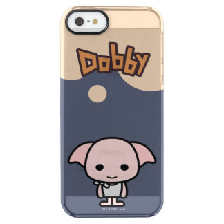 Dobby Cartoon Character Art Clear iPhone SE/5/5s Case