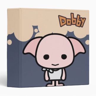 Dobby Cartoon Character Art Vinyl Binder