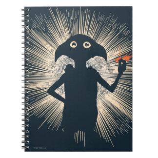 Dobby Casting Magic Spiral Notebooks