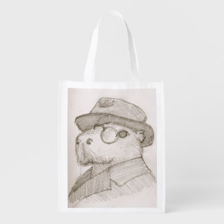 Dobby the capybara shopping bag, the candidate grocery bags
