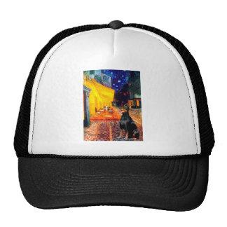 Doberman 1 - Terrace Cafe Trucker Hat