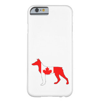 Doberman Canada Barely There iPhone 6 Case