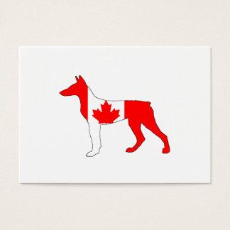 Doberman Canada Business Card