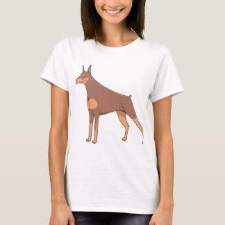 doberman cartoon 2 T-Shirt